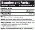 D-AA /D-Aspartic Acid/ 100 Caps.