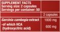 HCA / 100 Caps.