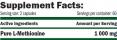 GreenDay METHIONINE 1000 mg / 120 Caps.