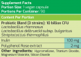 Probiotic Super Charge / 90 Vcaps