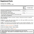 Natural Resveratrol /Mega Potency/ 200mg. / 120 VCaps.