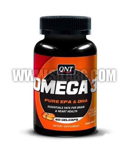 QNT Omega-3 / 60 Softgels.