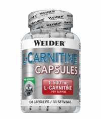 WEIDER L-Carnitine 1500 mg. / 100 Caps.