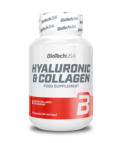 BIOTECH USA Hyaluronic & Collagen 30 Caps.