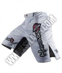 HAYABUSA FIGHTWEAR Shiai Fight Shorts /White/