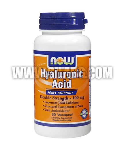 NOW Hyaluronic Acid 100mg. / 60 VCaps.