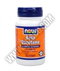 NOW Beta Carotene 25.000 IU / 100 Softgels