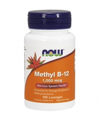 NOW Methyl B-12 / 1,000mcg. / 100 Loz.