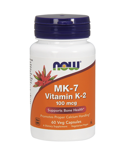 NOW MK-7 Vitamin K-2 / 100mcg. / 60 VCaps.