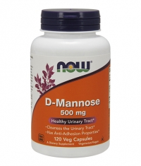 NOW D-Mannose 500mg. / 120 Caps.
