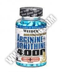 WEIDER Arginine + Ornithine 4.000 / 180 Caps.