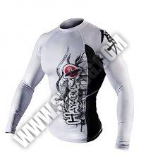HAYABUSA FIGHTWEAR Mizuchi Rashguard L/S White
