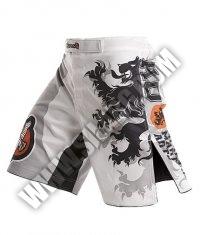 HAYABUSA FIGHTWEAR Alistair Overeem Signature Fight Shorts /White/