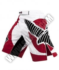HAYABUSA FIGHTWEAR Chikara Fight Shorts /Red/