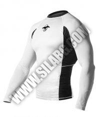 HAYABUSA FIGHTWEAR Haburi Rashguard L/S /White/
