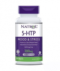 NATROL 5-HTP Time Release, Mood & Stress, 200mg / 30 Tabs