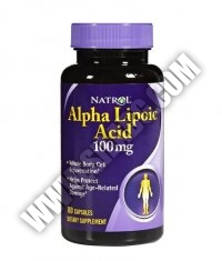NATROL Alpha Lipoic Acid 100 mg. / 100 Caps.