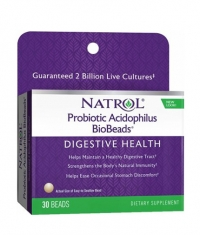 NATROL BioBeads ™ Probiotic Acidophilus 30 Beads