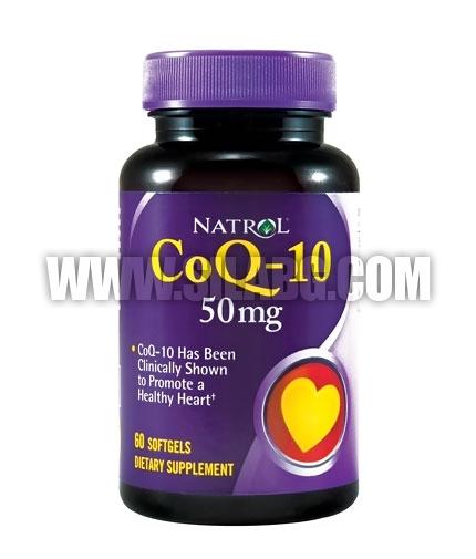 NATROL CoQ-10 / 50mg. / 30 Softgels