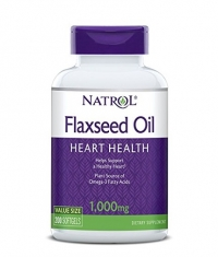 NATROL Flaxseed Oil 1000mg. / 200 Softgels