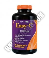 NATROL Easy-C ® with Bioflavonoids 1000mg. / 180 Caps.