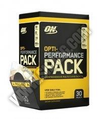 OPTIMUM NUTRITION Opti-Performance Pack 30 Packs.