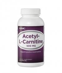 GNC Acetyl-L-Carnitine 500mg. / 60 Caps.