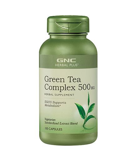 GNC Herbal Plus Standardized Green Tea Complex 100 Caps.