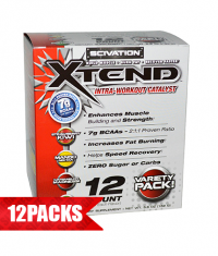 SCIVATION Xtend Intra-Workout Catalyst! /New Formula/ 12 Pack