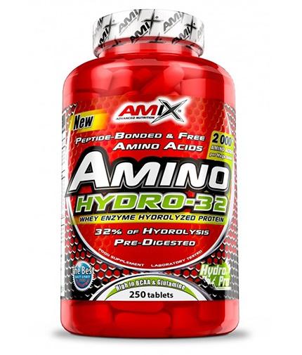 AMIX Amino HYDRO-32 / 250 Tabs.