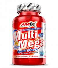 AMIX Multi Mega Stack 120 Tabs.