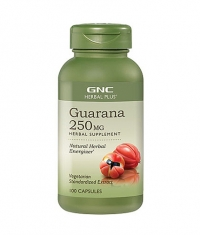 GNC Standardized Guarana 100 Vcaps.