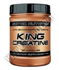 SCITEC King Creatine 120 Caps.