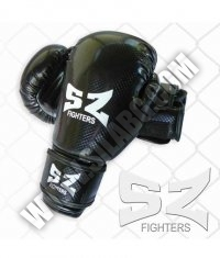 SZ FIGHTERS Boxing Gloves /Black-Carbon/