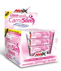 AMIX CarniSlim ® Lipotropic 25ml. / 20 Amp.