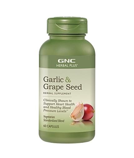 GNC Garlic Plus Grape Seed 60 Vcaps.