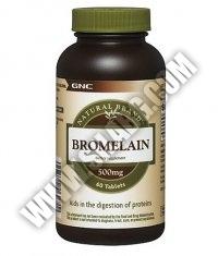 GNC Natural Brand ™ Bromelain 500mg. / 60 Tabs.