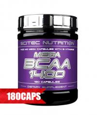 SCITEC Mega *** 1400 / 180 Caps.