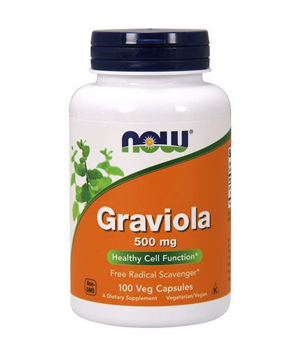 NOW Graviola 500mg. / 100 Caps.