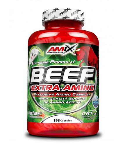 AMIX Beef Extra Amino / 198 Caps.