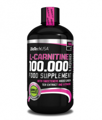 BIOTECH USA L-Carnitine 100.000 / 500ml Liquid