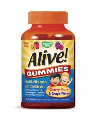 NATURES WAY Alive Children's Multi-Vitamin Gummy 90 Tabs.