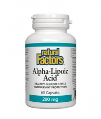 NATURAL FACTORS Alpha Lipoic Acid 200mg. / 60 Caps.