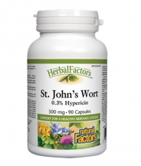 NATURAL FACTORS St. John's Wort Extract 300mg. / 90 Caps.