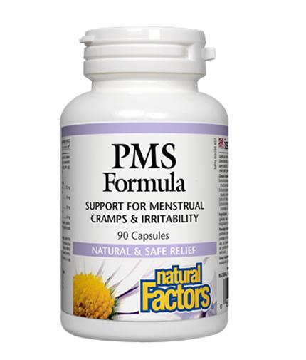 NATURAL FACTORS PMS Formula 330mg. / 90 Caps.