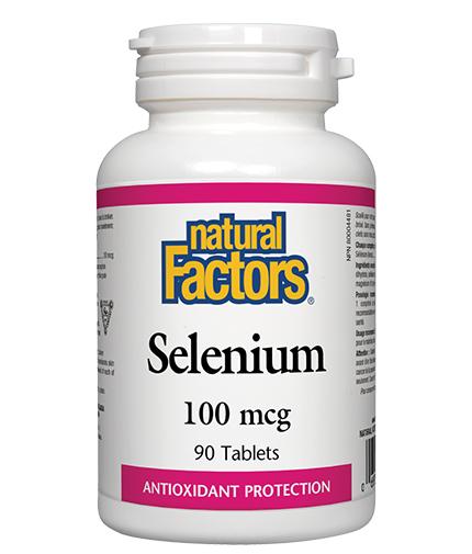 NATURAL FACTORS Selenium 100mcg. / 90 Tabs.
