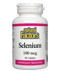 NATURAL FACTORS Selenium 100mcg. / 90 Tabs.