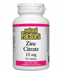 NATURAL FACTORS Zinc 15mg. / 90 Tabs.