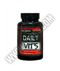 PURE NUTRITION Daily Vitamins 100 Tabs.