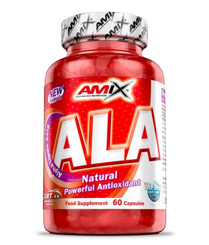 AMIX ALA /Alpha Lipoic Acid/ 60 Caps.